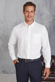 Pánská košile oxford s dlouhým rukávem