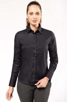 Dámská košile s dlouhým rukávem v nežehlivé úpravì