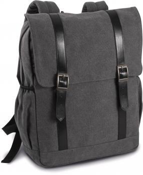 Plátìný batoh s klopou
