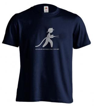 Pánské trièko - Jestliže mì zahlédnete pak u vás hoøí