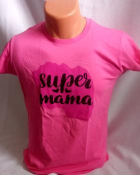 Dámské trièko - super máma