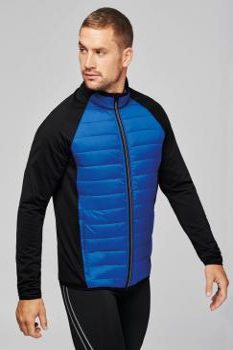 Pánská bunda na pohyb Dual fabric