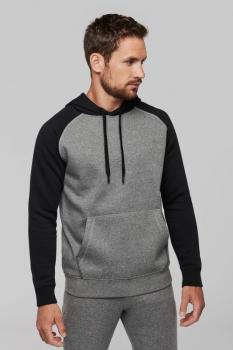 Mikina unisex Adult two-tone hooded sweatshirt - Výprodej