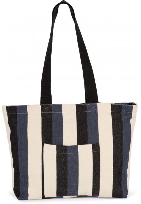 Recyklovaná nákupní taška - Pruhovaný vzor - zvìtšit obrázek