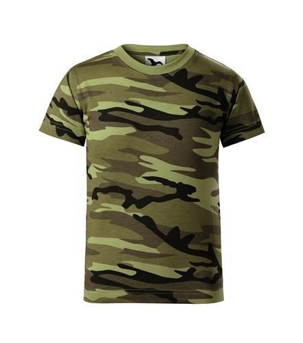 Trièko dìtské Camouflage