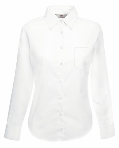 Dámská popelínová košile dlouhý rukáv - zvìtšit obrázek