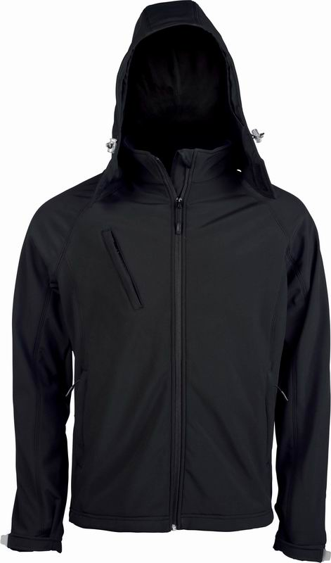 Pánská softshellová bunda s kapucí - zvìtšit obrázek