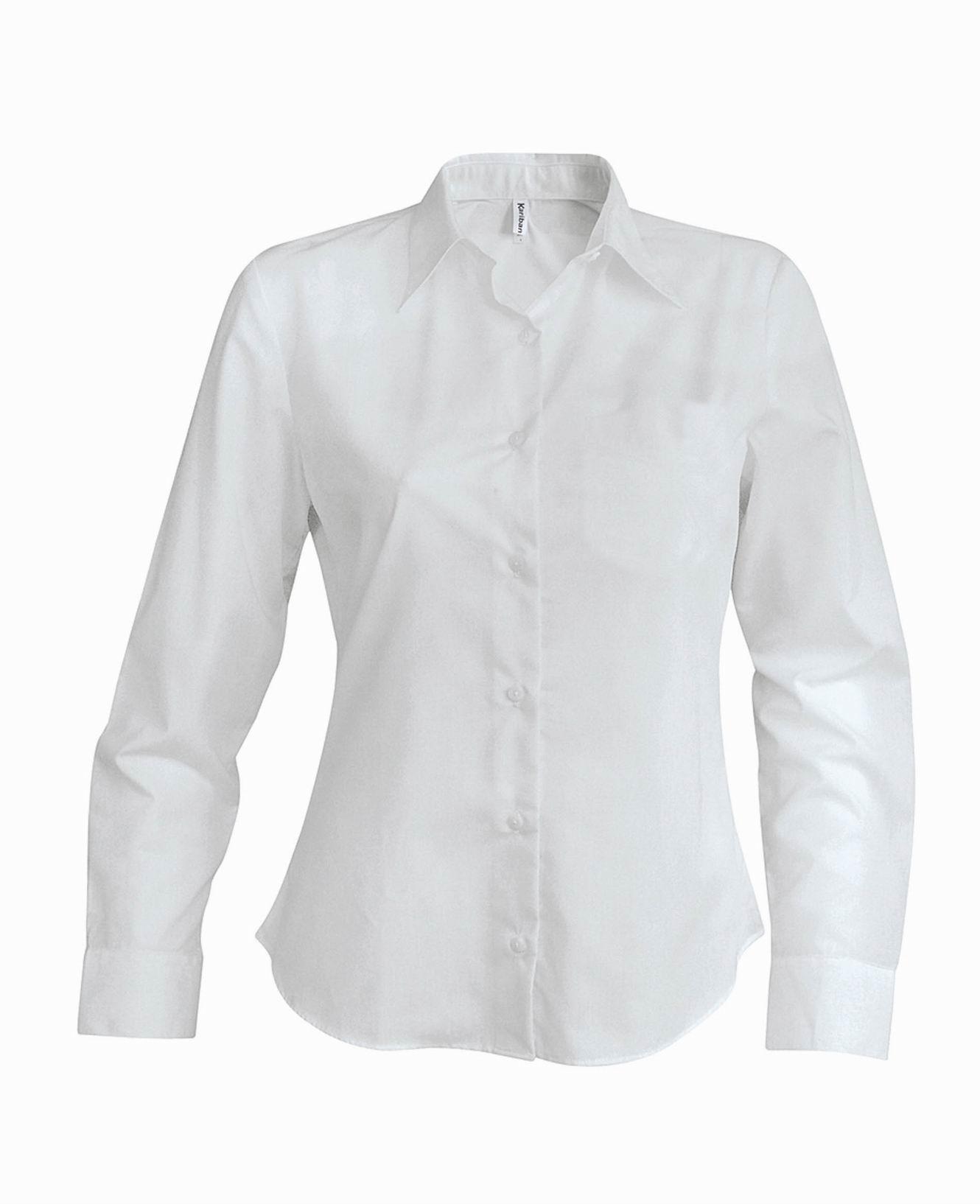 Dámská košile oxford s dlouhým rukávem - zvìtšit obrázek