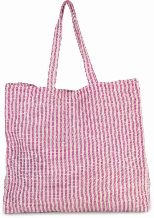 Pruhovaná nákupní taška Juco - zvìtšit obrázek