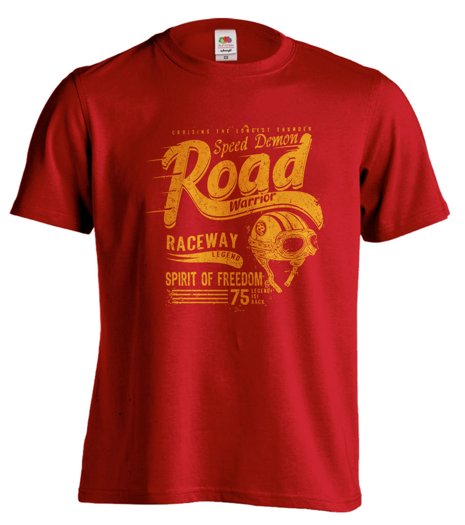 Pánské trièko - ROAD Warrior RACEWAY - zvìtšit obrázek