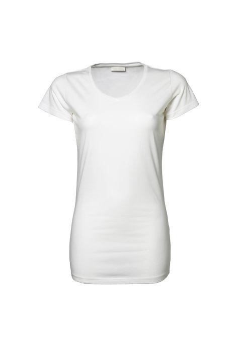 Dámské streèové trièko Tee Extra Lenght - zvìtšit obrázek